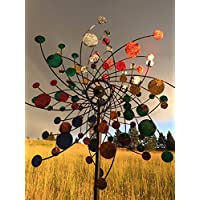 Confetti Style Kinetic Wind Garden Spinner