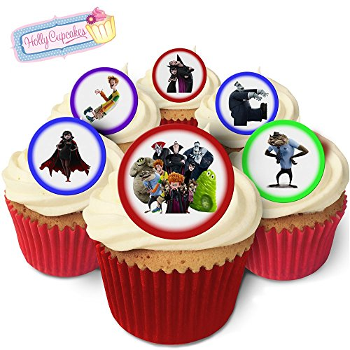 24 Fabulous Pre-Cut Edible Wafer Cake Toppers: Hotel Transylvania
