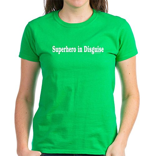[CafePress - Superhero Costume Women's Dark T-Shirt - Womens Cotton T-Shirt] (Party Rock Crew Costume)