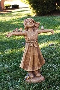 Evergreen Enterprises, Inc. Joy Chica alegría Estatua tamaño: Grande