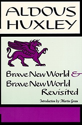 Brave New World & Brave New World Revisited by Aldous Huxley(January 1, 1965) Paperback (Brave New World And Brave New World Revisited)