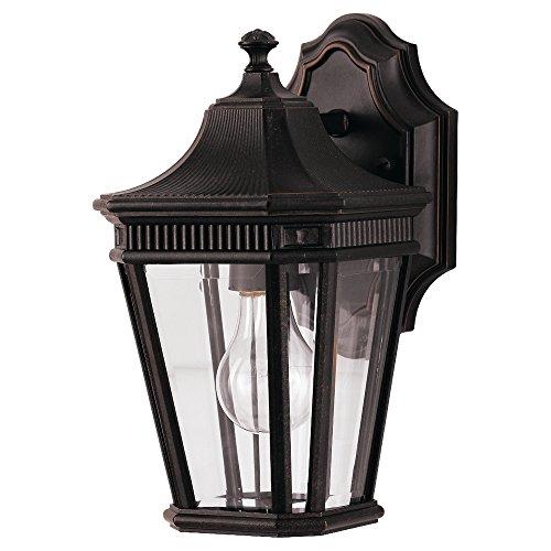 11 1/2' Three Light (Feiss OL5400GBZ-LED Cotswold Lane 1 - Light Cotswold Lane in Grecian Bronze)