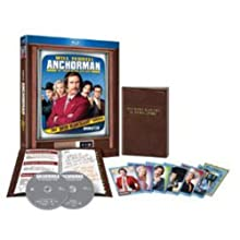 Anchorman: The Legend of Ron Burgundy (Unrated Rich Mahogany Edition) [Blu-ray] (2004)