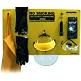 Independent Warehouse 70-1170 Complete Forklift Battery Protective Handling PPE Kit