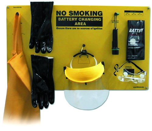 IRONguard 70-1170 Complete Forklift Battery Protective Handling PPE Kit by IDEAL