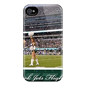 Protective Cell-phone Hard Cover For Iphone 6plus With Custom Realistic New York Jets Series AaronBlanchette