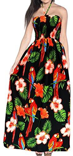 Maxi de de LEELA la la h267 baño Playa baño Correas Mujer Vestido Encubrimiento de LA Negro Desgaste para de Tarde de del Tubo Falda de Traje la de Traje YtqxwTzdA