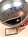 Tom Brady New England Patriots Signed Autograph Full Size Helmet Tristar Authentic Certified