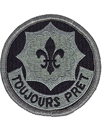 2nd ACR (Armored Cavalry Regiment) ACU Patch Foliage Green