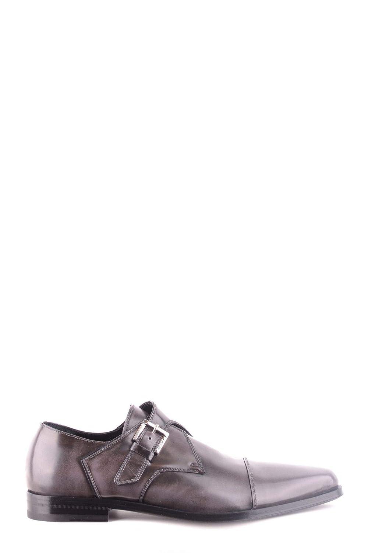 Cesare Paciotti Herren MCBI31475 Braun Leder Monk Schuhe