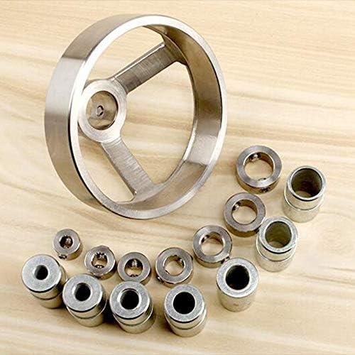 工具 16in1ドリルガイド垂直ポケット穴ジグ5/6/7/8/9/10 / 12mmドリルビット穴ロケータステンレス鋼木工ジグキット DIY 作業工具