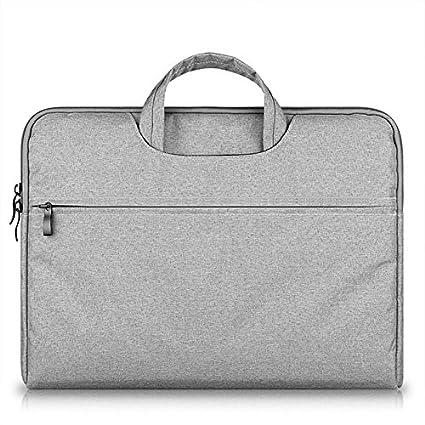 Mosiso Waterproof Lycra Briefcase For Laptop Macbook Chromebook 15-15.4 inch