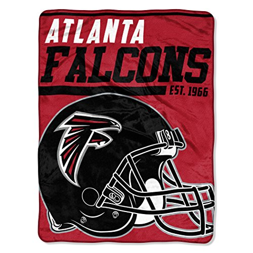 NFL Atlanta Falcons 40 Yard Dash Micro Raschel Throw, 46
