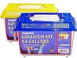FISH TANK 21.5 X14X15CM 4ASST NEW 12758 , Case of 48
