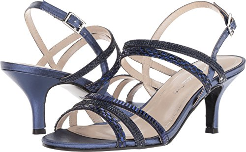 Caparros Women's Nichole Navy Metallic 9 B US