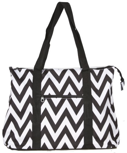 Collection Oversized Tote (Ever Moda Chevron Tote Bag X-Large)