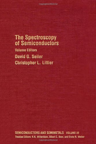 The Spectroscopy of Semiconductors, Volume 36 (Semiconductors & Semimetals)