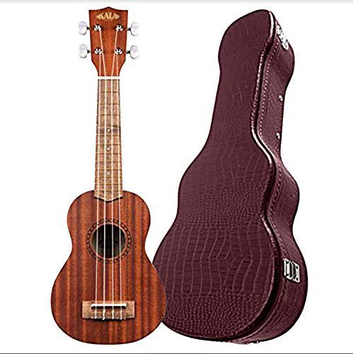 (Kala Concert Ukulele Solid Mahogany Series Bundled with Alligator Hardcase - 2 items)