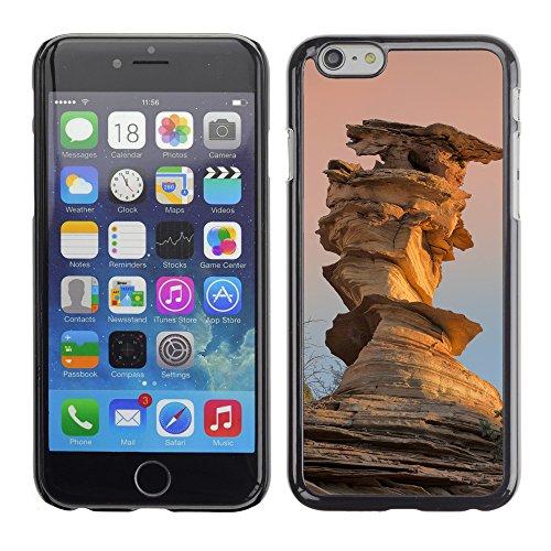 "Premio Sottile Slim Cassa Custodia Case Cover Shell // F00024247 Brown falaises // Apple iPhone 6 6S 6G PLUS 5.5"""