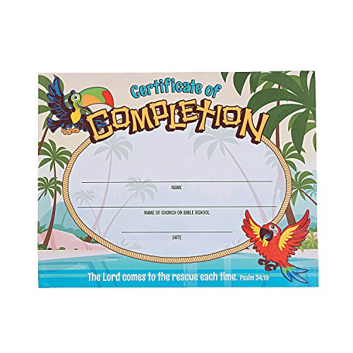Island VBS Certificates of (Vbs Certificate)