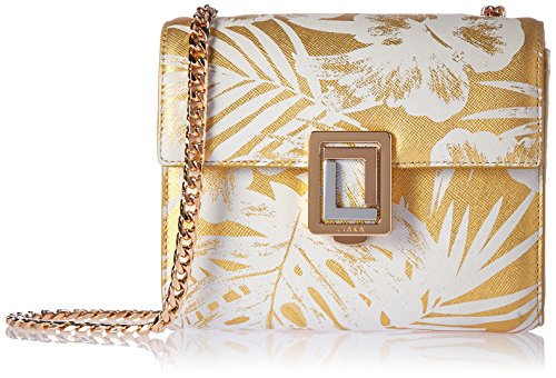 Marella Crossbody Palm Leather Women's Chain Mini Gold Handbag Luana Italy Bn61xwqwC