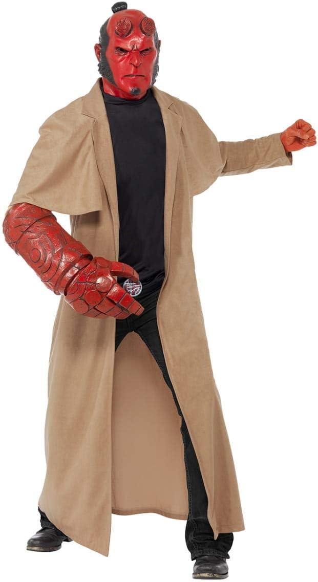 Original disfraz de Hellboy: Amazon.es: Juguetes y juegos