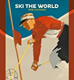 Ski the World 2018 Wall Calendar