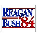 CafePress Reagan Bush 1984 16'x20' Poster on Heavy Semi-Gloss Paper