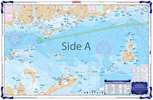 Waterproof Chart, Coastal Fishing, 50F Narragansett Bay to Block Island (Narragansett Bay)