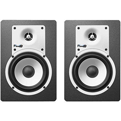 フルイドオーディオ ブックシェルフ型モニタースピーカー(ブラック)【ペア】FLUID AUDIO CLASSIC SERIES C5 B0711LPGBY