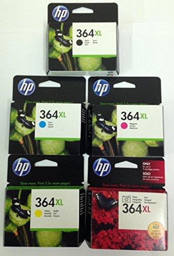 5 x Cartuchos de impresora originales HP 364 X L: Amazon.es ...