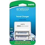 Sanyo SEC-TDR02N Eneloop 1500 Cycle Travel Charger Kit