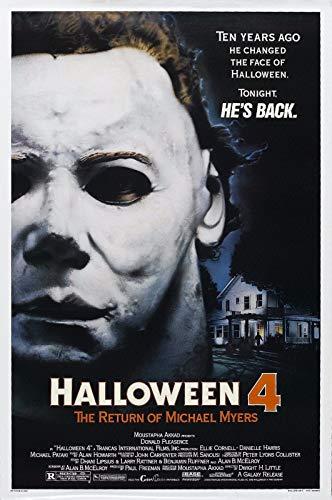 72248 Halloween 4 The Return of Michael Myers 1988 Decor Wall 32x24 Poster Print (Halloween 4 The Return Of Michael Myers 1988)