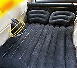 STAZSX Car inflatable bed car supplies mattress rear travel bed car SUV sleeping cushion air cushion, black