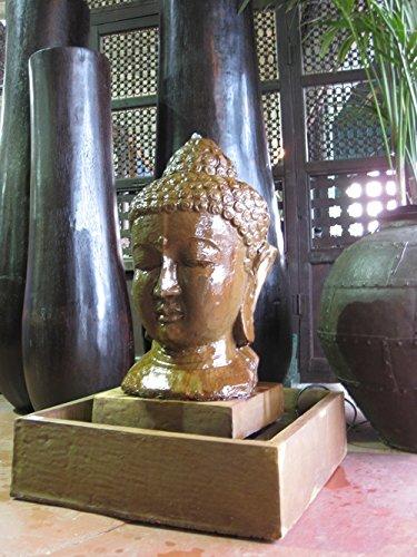 Stone Buddha Garden Fountain