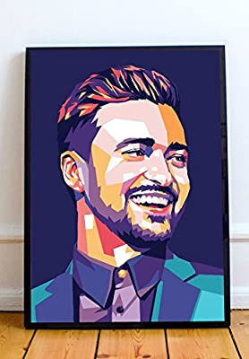 Justin Timberlake Limited Poster Artwork - Professional Wall Art Merchandise (More Sizes Available)