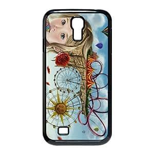 summer artwork Samsung Galaxy S4 9500 Cell Phone Case Black xlb2-116239