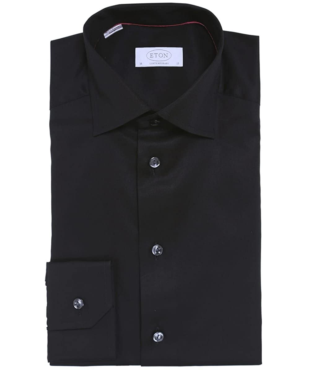 7b9aa3e73737 Eton Mens Contemporary Fit Signature Twill Shirt at Amazon Men s Clothing  store