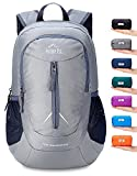 wwww Backpack Small Water Resistant Travel Hiking Daypack-02. Grey