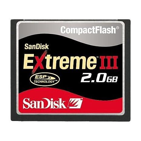 2 GB SANDISK EXTREME III tarjetas de memoria COMPACT FLASH ...