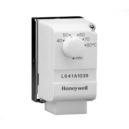 honeywell l641a1039 cylinder thermostat amazon co uk diy & tools Honeywell Humidistat Wiring-Diagram at Honeywell L641a1005 Wiring Diagram