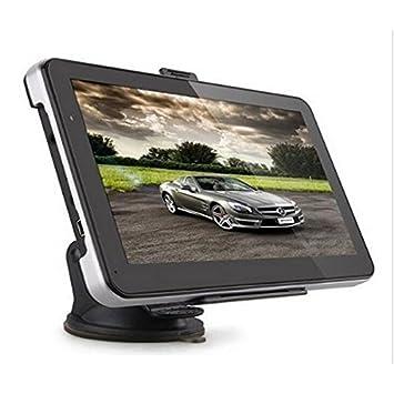 REFURBISHHOUSE Coche Universal 7 Pulgadas 8GB GPS navegacion Universal Externa navegador GPS portatil Coche navegador #704: Amazon.es: Coche y moto