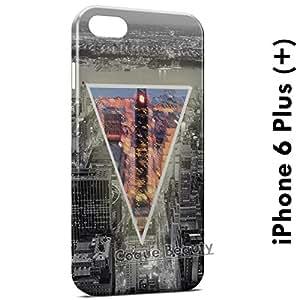Carcasa Funda iPhone 6 Plus (iPhone 6+) New York Pyramid Protectora Case Cover