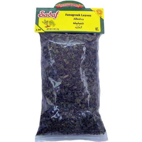 Sadaf Fenugreek Leaves, 2-ounce (Pack of 1)