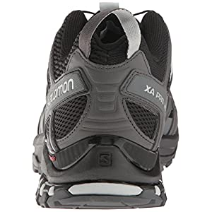 Salomon Men's XA Pro 3D M+ Trail Runner, Black/Magnet/Quiet Shade, 8.5 D US