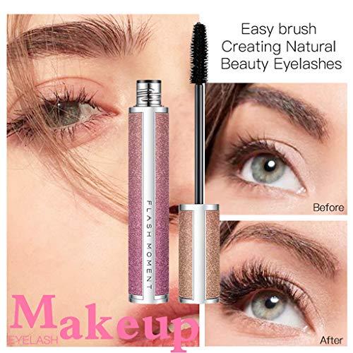 NOGOQU Beauty Eyelashes Black Mascara Premium Formula Adds Length, Depth And Glamour Effortlessly Waterproof Long Lasting Shiny Gift