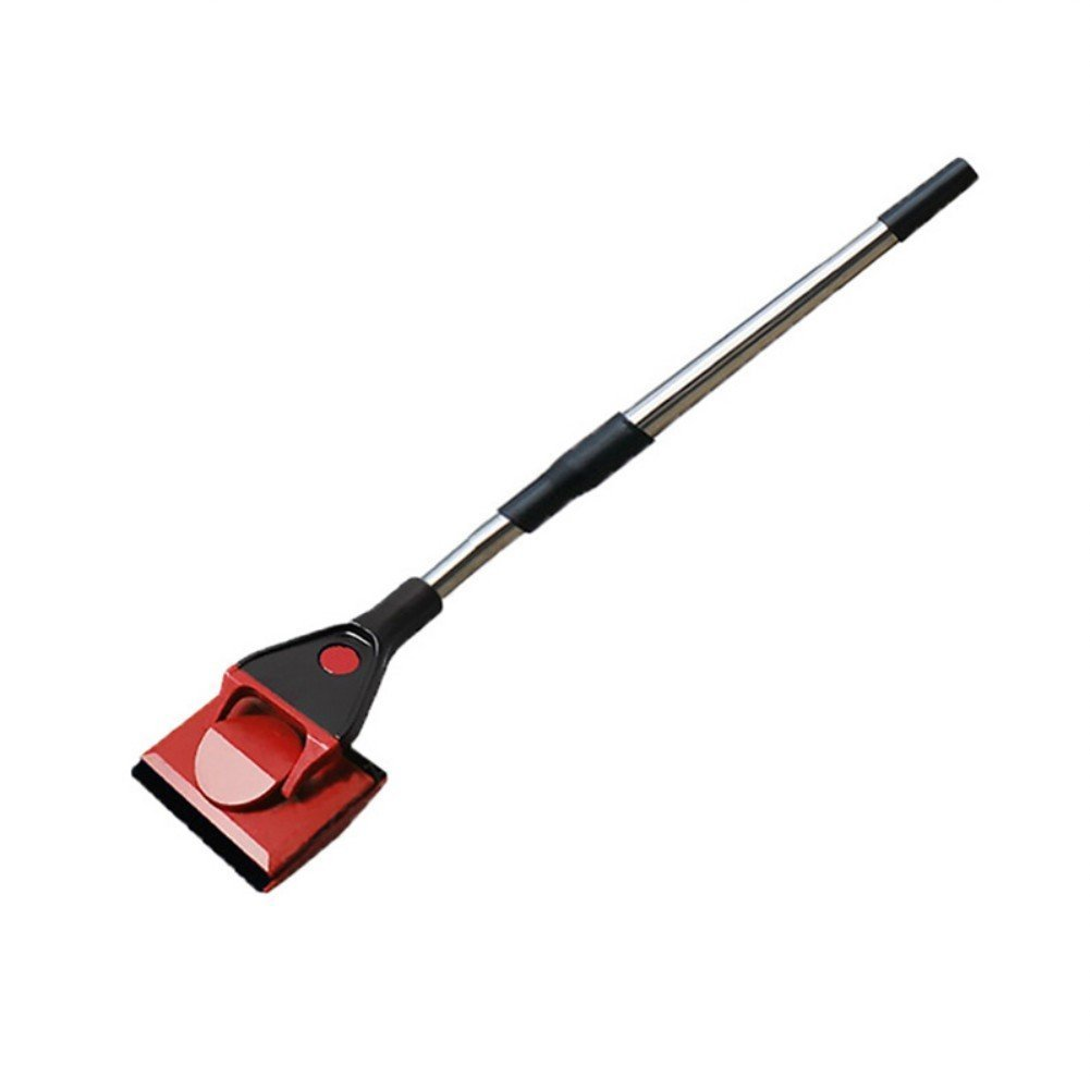 Woopower Cepillo de limpieza 3 en 1 para acuario, cepillo de limpieza para tanque de peces, kit de mango largo, rascador de algas, esponja para ventana/rastrillo de grava SPSUDKQ18683