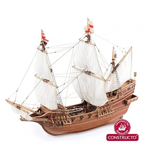Golden Hind - Model Ship Kit by Constructo