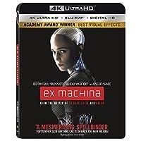 Ex Machina 4K Ultra HD + Blu-ray + Digital HD Deals