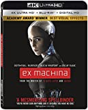 Ex Machina (エクス・マキナ) [4K Ultra HD + Blu-ray + Digital HD](Import)